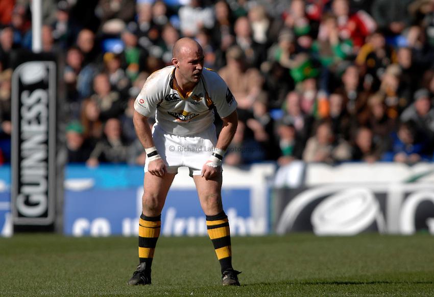 Photo: Richard Lane..London Irish v London Wasps. Guinness Premiership. 18/03/2007..Wasps' Alex King.
