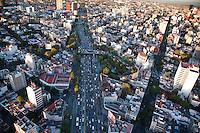 Circuito Interior. Aerial photos of Mexico City, Mexico