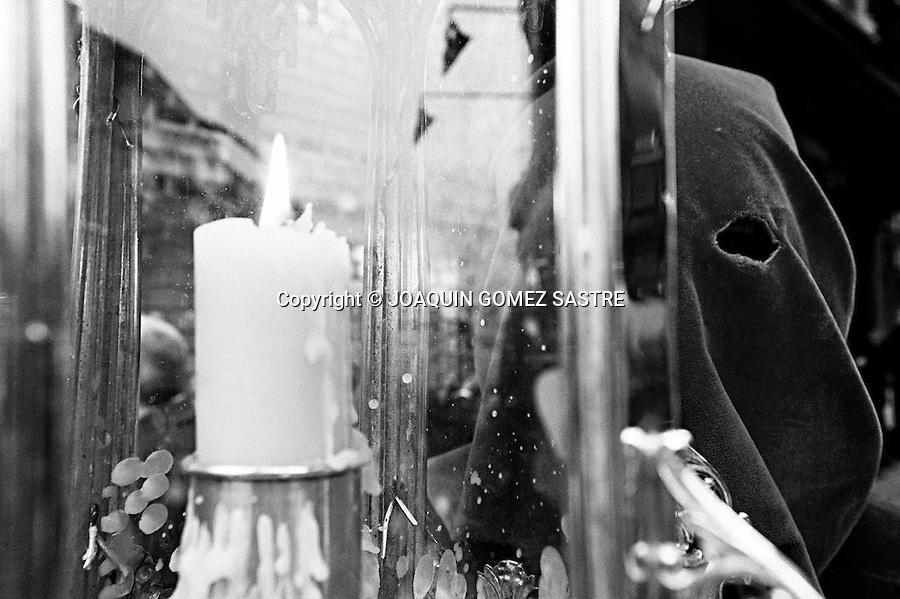 1 ABRIL 2010 SANTANDER.Procesion de semana santa del jueves Santo.foto © JOAQUIN GOMEZ SASTRE