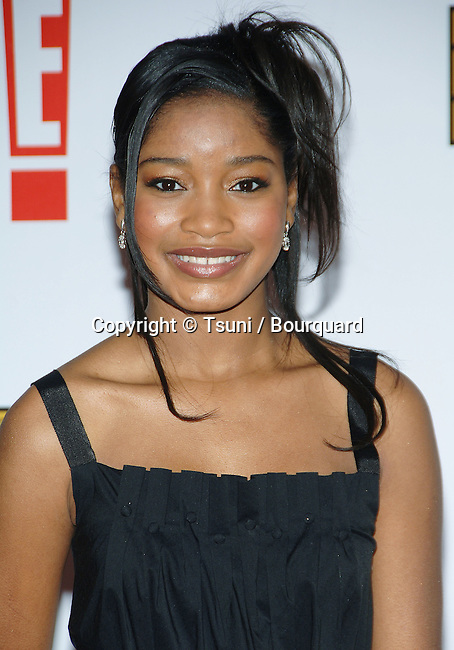 Keke Palmer arriving at the 12th Annual  Critics Choice Awards ( from the Broadcast Film Association ) at the Santa Monica Civic Auditorium in Los Angeles. January 12, 2007.<br /> <br /> eye contact<br /> headshot<br /> smile