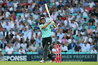 Rikki Clarke hits 6 runs for Surrey during Surrey vs Essex Eagles, Vitality Blast T20 Cricket at the Kia Oval on 12th July 2018