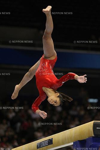 Sabrina Vega (USA), ..OCTOBER 8, 2011 - Artistic Gymnastics : ..2011 World Artistic Gymnastics Championships ..Women's Qualification ..at Tokyo Metropolitan Gymnasium, Tokyo, Japan. ..(Photo by YUTAKA/AFLO SPORT) [1040]