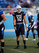 Josh Griffis (10) - Norland Vikings (Miami) vs IMG Academy Football on October 26, 2019 at IMG Academy in Bradenton, Florida.  (Mike Janes Photography)