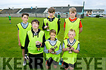 Enjoying the Ballyheigue Summer Festival Soccer Blitz at Marian Park Ballyheigue on Monday were Team Marian PK  front l-r Adam O'leary, Darragh O  Fuara in, Denis Lynch Back l -r David O'Grady, Colm Walsh and Eric Walsh