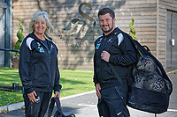 2018 09 25 Suzan and Michael Eames, Fairwood TRaining Ground, Wales, UK