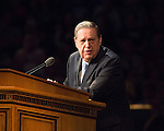 1608-44 129<br /> <br /> Education Week<br /> Elder Holland Devotional<br /> <br /> August 16, 2016<br /> <br /> Photography by: Mark A. Philbrick/BYU Photo<br /> <br /> Copyright BYU Photo 2016<br /> All Rights Reserved<br /> photo@byu.edu (801)422-7322<br /> <br /> 496