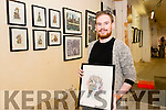 Artist/ Illustrator Feral O'Connor from Cork pictured at the K-Fest Music & The Arts Festival, Killorglin last Bank Holiday weekend.