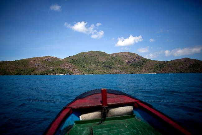 Tre Lon Island, part of the Con Dao Islands in Vietnam. The 16 mountainous islands and islets are situated about 143 miles southeast of Ho Chi Minh City in Vietnam, in the South China Sea. Photo taken Thursday, May 5, 2010...Kevin German / LUCEO For the New York Times