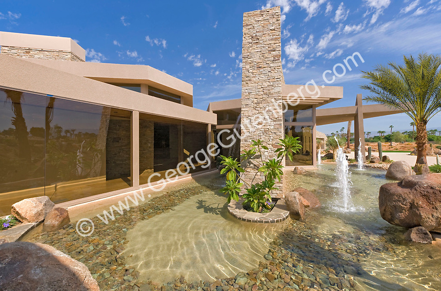 Residential architecture at Guy Dreier designed luxury estate