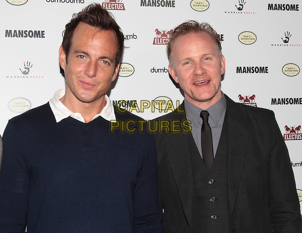 Will Arnett, Morgan Spurlock.'Mansome' Premiere held at the ArcLight Theaters, Hollywood, California, USA..May 9th, 2012.half length blue jumper sweater black suit.CAP/ADM/SLP/JO.©James Orken/Starlitepics/AdMedia/Capital Pictures