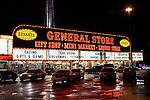 Bonanza General Store after Feb. rain in Las Vegas