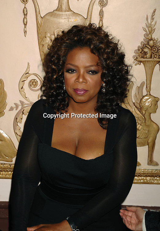 Oprah Winfrey..posing for photos at The Elie Wiesel Foundation for Humanity Award Dinner honoring Oprah Winfrey on ..May 20, 2007 at The Waldorf Astoria Hotel. ..Robin Platzer, Twin Images........212-935-0770