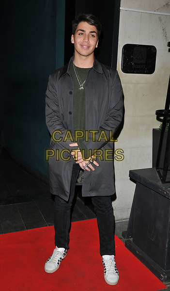 Samuel Bensoussan at the YOSHIAKI by DSTRKT restaurant launch party, DSTRKT, Rupert Street, London, England, UK, on Tuesday 28 March 2017.<br /> CAP/CAN<br /> &copy;CAN/Capital Pictures