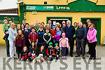 A large group of residents of Lerrig and Kilmoyley area and politicians who gathered on Monday at Lerrig Post Office and Shop protesting on the closure and hoping to keep it open