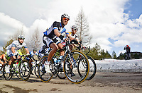 The 4th stage of Tirreno Adriatic from Narni to Prati di Tivo was won by Froome Christpher team Sky ProCycling on March 9, 2013. Photo Credit: Diloreto A.