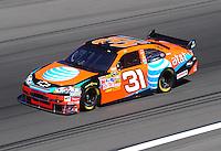 Feb 29, 2008; Las Vegas, NV, USA; NASCAR Sprint Cup Series driver Jeff Burton during practice for the UAW Dodge 400 at Las Vegas Motor Speedway. Mandatory Credit: Mark J. Rebilas-US PRESSWIRE