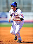 7 March 2010: New York Mets' outfielder Jason Bay in action during a Spring Training game against the Washington Nationals at Tradition Field in Port St. Lucie, Florida. The Mets edged out the Nationals 6-5 in Grapefruit League pre-season play. Mandatory Credit: Ed Wolfstein Photo