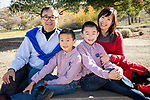 Christmas family portraits at the Benicia Community Park.