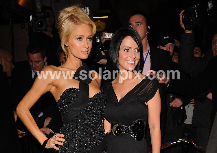 **ALL ROUND PICTURES FROM SOLARPIX.COM**.**WORLDWIDE SYNDICATION RIGHTS**.The Celebrities out on the town in London last night  Thursday September 09, 2008..This Pic:Paris Hilton,guest..JOB REF:7564- SSD-ATM     DATE:09_10_08.**MUST CREDIT SOLARPIX.COM OR DOUBLE FEE WILL BE CHARGED* *UNDER NO CIRCUMSTANCES IS THIS IMAGE TO BE REPRODUCED FOR ANY ONLINE EDITION WITHOUT PRIOR PERMISSION*