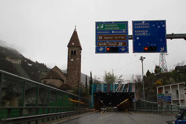 Drive from Canazei to St Anton, Italy,