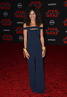 Ashley Dyke at the world premiere for &quot;Star Wars: The Last Jedi&quot; at the Shrine Auditorium. Los Angeles, USA 09 December  2017<br /> Picture: Paul Smith/Featureflash/SilverHub 0208 004 5359 sales@silverhubmedia.com