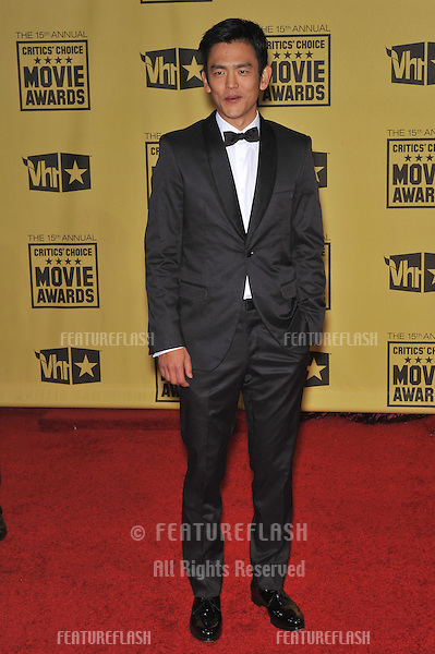 John Cho at the 15th Annual Critics' Choice Movie Awards, presented by the Broadcast Film Critics Association, at the Hollywood Palladium..January 15, 2010  Los Angeles, CA.Picture: Paul Smith / Featureflash