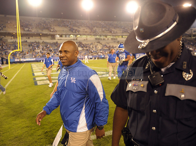 in the second half of the UK vs WKU home game on  Saturday, September 11, 2010. Photo by MIke Weaver | Staff
