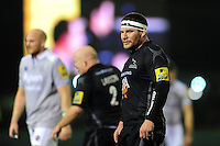 Rob Vickers of Newcastle Falcons looks on during a break in play. Aviva Premiership match, between Newcastle Falcons and Bath Rugby on January 6, 2017 at Kingston Park in Newcastle upon Tyne, England. Photo by: Patrick Khachfe / Onside Images