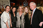 "Rebecca Moses, Vera Wang, guests and Ted Turner at the Rebecca Moses ""A Life of Style"" book signing at Fratelli Rossetti Boutique, November 11, 2010."