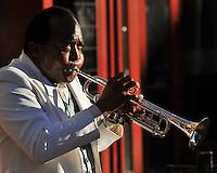 Street musician, San Diego.