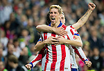 Atletico de Madrid spanish foward Fernando Torres during the king´s cup football match with Atletico de Madrid vs Real Madrid at the Santiago Bernabeu stadium in Madrid on Jaunary 15, 2015. Samuel de Roman / Photocall3000.