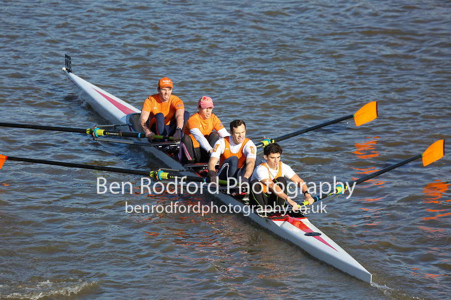 Crew: 235  LEA (A)  Lea RC (L Moore)  4- Chall<br /> <br /> Fours Head of the River 2018<br /> <br /> To purchase this photo, or to see pricing information for Prints and Downloads, click the blue 'Add to Cart' button at the top-right of the page.