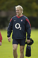 Marlow, GREAT BRITAIN, Lewis MOODY, during the ,  England Rugby Training session,  at Bisham Abbey, ENGLAND. 31/10/2006. [Photo, Peter Spurrier/Intersport-images].....
