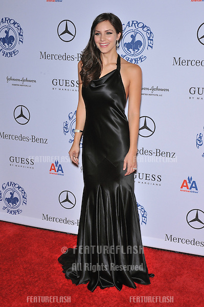 Katharine McPhee at the 2008 Carousel of Hope Ball at the Beverly Hilton Hotel, Beverly Hills, CA..October 25, 2008  Los Angeles, CA.Picture: Paul Smith / Featureflash