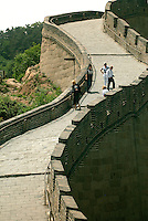 The Badaling section of the Great Wall of China was first constructed during the Ming dynasty (1368-1644) and was extensively renovated in the 1950s and 1980s. This section just is just 43 northwest of Beijing and is one of the most popular wall destinations for tourists. In 1988, it was listed in the World Cultural Heritage Directory by UNESCO..