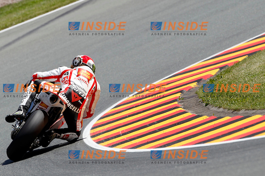.15-07-2011 Sachsenring (GER).Motogp - MotoGp.in the picture: Marco Simoncelli - San Carlo Gresini Team