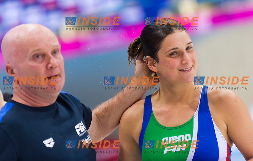 BERTOCCHI Elena ITA silver medal<br /> London, Queen Elizabeth II Olympic Park Pool <br /> LEN 2016 European Aquatics Elite Championships <br /> Diving<br /> Women's 1m springboard final <br /> Day 03 11-05-2016<br /> Photo Giorgio Perottino/Deepbluemedia/Insidefoto