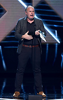 "LOS ANGELES - DECEMBER 6: ""Red Dead Redemption 2"" (Rockstar Games) accepts the Best Narrative award onstage at the 2018 Game Awards at the Microsoft Theater on December 6, 2018 in Los Angeles, California. (Photo by Frank Micelotta/PictureGroup)"