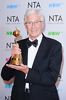 Paul O'Grady at the National Television Awards 2018 at the O2 Arena, Greenwich, London, UK. <br /> 23 January  2018<br /> Picture: Steve Vas/Featureflash/SilverHub 0208 004 5359 sales@silverhubmedia.com