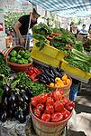 Farmer's Market in Portland