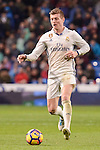 Real Madrid's Toni Kroos during La Liga match between Real Madrid and Real Sociedad at Santiago Bernabeu Stadium in Madrid, Spain. January 29, 2017. (ALTERPHOTOS/BorjaB.Hojas)