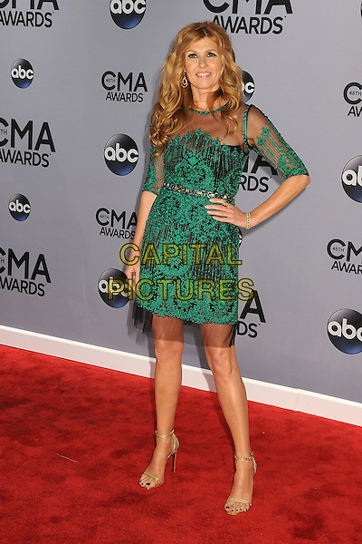 05 November 2013 - Nashville, Tennessee - Connie Britton. 47th CMA Awards, Country Music's Biggest Night, held at Bridgestone Arena. <br /> CAP/ADM/BP<br /> &copy;BP/ADM/Capital Pictures