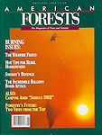 Published photography by Larry Angier..Cover photo, American Forest magazine