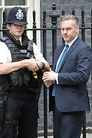 LONDON, ENGLAND - JUNE 04: Police security outside in 10 Downing Street, during the second day of Trump State Visit on June 4, 2019 in London, England. <br /> CAP/GOL<br /> ©GOL/Capital Pictures