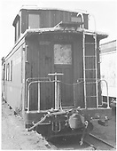 End view of long caboose #0589.<br /> D&amp;RGW  Alamosa, CO  Taken by Payne, Andy M. - 6/3/1969