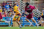 Los Angeles, CA 02/15/14 - unidentified Arizona State player(s) and Jamie Goldfield (Stanford #23)