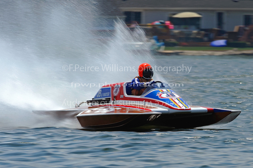 "Robert Bramlage, E-66 ""JB and Water"" (Don Kelson 5 Litre class hydroplane)"