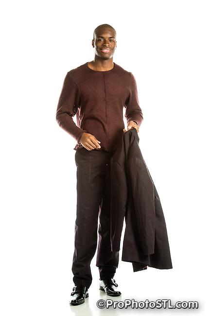 Michele L. Sansone fashion designs - model Lawrence