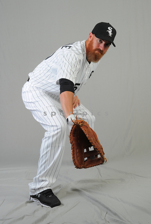 Chicago White Sox Adam LaRoche (25) during photo day on February 28, 2015 in Glendale, AZ.