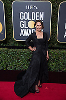 Nominated for BEST PERFORMANCE BY AN ACTRESS IN A SUPPORTING ROLE IN A MOTION PICTURE for her role in &quot;Lady Bird,&quot; actress Laurie Metcalf attends the 75th Annual Golden Globes Awards at the Beverly Hilton in Beverly Hills, CA on Sunday, January 7, 2018.<br /> *Editorial Use Only*<br /> CAP/PLF/HFPA<br /> &copy;HFPA/PLF/Capital Pictures